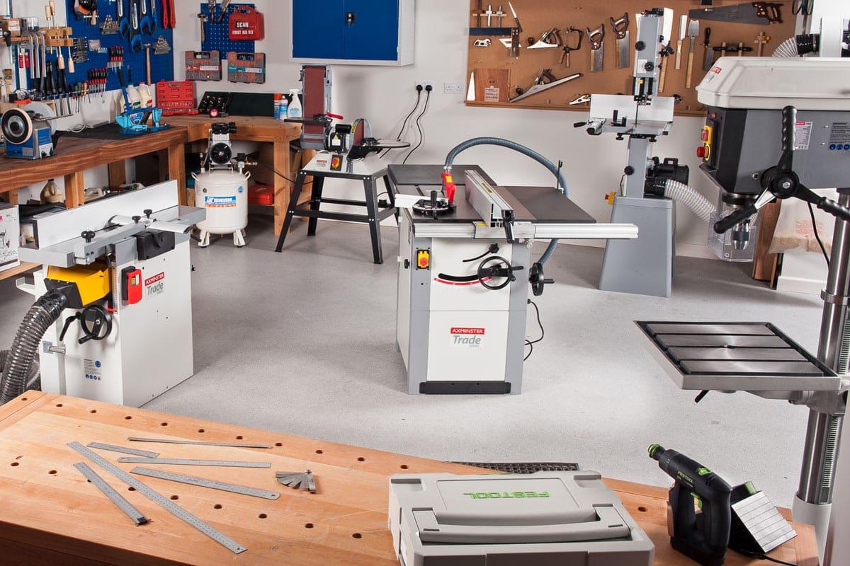 Xây dựng hệ thống máy móc cho xưởng vừa và nhỏ