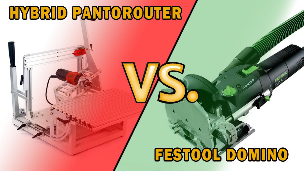 So sánh Festool Domino với Hybrid PantoRouter